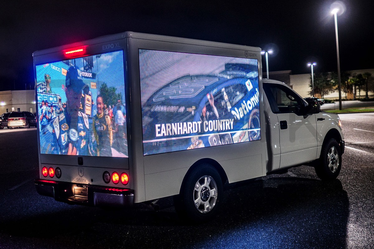 Spark Videotrucks Digital Led Video Promotional Vehicles